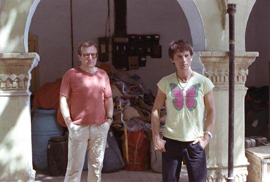 From the left: Edward Westerlund and Wojtek Kurtyka