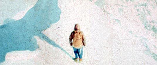 Jerzy Kukuczka, on the slope of Mt. Everest
